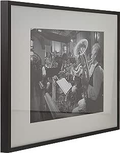 著名,60.96x91.44 cm 海报框,预组装黑色木复合物,金门桥画廊版 黑色 11x14 並行輸入品