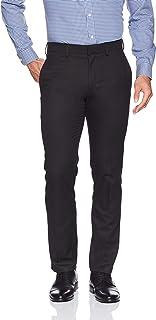 Kenneth Cole REACTION 男士优质弹力纹理编织修身西装裤  巧克力色 30W x 30L
