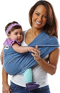 Baby K'tan 婴儿背带抱带 原创 棉 牛仔 [対象] 0ヶ月 ~ 牛仔色 XS