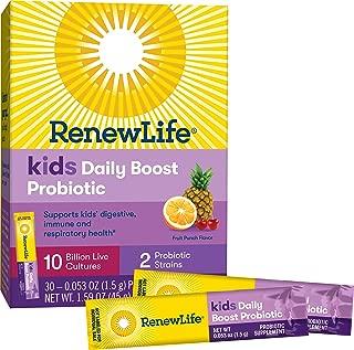 Renew Life 兒童每日益生菌提升,100 億立方英尺,30 片