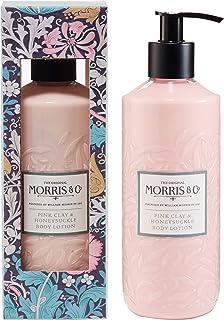 Morris & Co. 粉红色粘土和金银花身体乳液 320ml