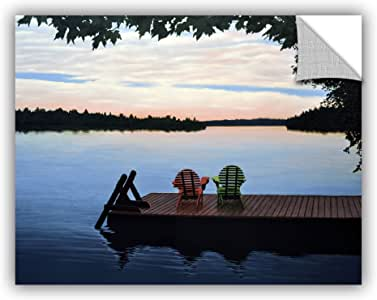 """ArtWall Ken Kirsh's Tranquility Appeelz Removable Graphic Wall Art, 24 by 32"""""""