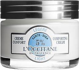 L'OCCITANE 欧舒丹 乳木果5%轻柔保湿凝霜 适合中性皮肤和混合性肌肤,1.7盎司(50ml)