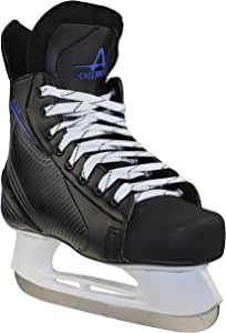 American Athletic Shoe 男孩 Ice Force 曲棍球鞋 1 黑色 45801