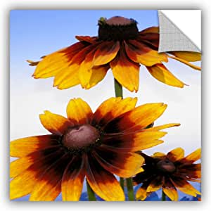 ArtWall Herb Dickinson's Sunflowers in The Open Sky Art Appeelz Removable Graphic Wall Art, 36 x 36""