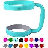 STRATA CUPS 提供的 907 毫升杯柄(青色)- 16 色 - 提供 907 毫升 YETI 杯子、OZARK TRAIL Tumbler、Rambler 杯 - 黑色、灰色、紫色、青色、粉色、灰色、红色等 - 不含 BPA