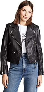 Mackage 女士 Baya 经典时尚机车夹克