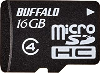 BUFFALO 防水规格 Class4对应 microSDHC RMSD-BSB系列RMSD-BS16GB 16GB