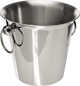 Paderno World Cuisine 葡萄*桶,不锈钢 银色 1/2 瓶子 56120-18