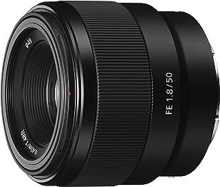 Sony 索尼 F1.8定焦镜头 SEL50F18F E卡口全画幅50毫米 -黑色