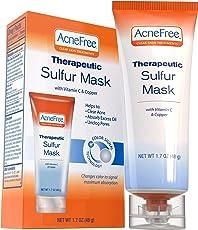 acnefree 无硫磺面具682毫升带维生素C 和铜,******适用于清除***,后跟垫 excess 油和 unclogging pores