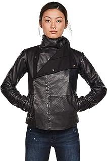 G-STAR RAW 女士项圈修身西装 Wmn 皮夹克