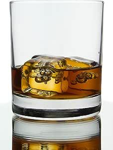 Classic Barware Whiskey 玻璃杯,283.5 克 - 6 件套 Bulk Packaging-Clear Glass 54336