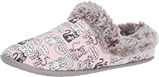 Skechers 斯凯奇 BOBS 女式海滩 Bonfire-Cuddle Quote Me Kitty 拖鞋洞鞋 W *泡沫