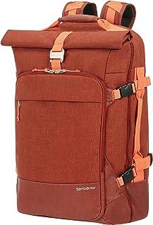 Samsonite 新秀丽 ziproll – 行李包/背包 小号 – 三向式行李箱,55 厘米 焦橙色 焦橙色
