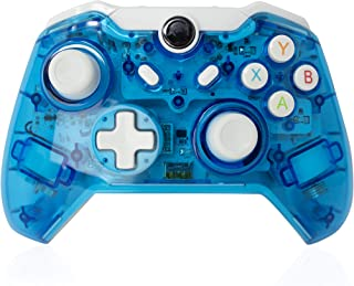 CHASDI Xbox One 无线控制器通过蓝牙连接与 Xbox One、S、X 和 PC 兼容,带游戏LED。