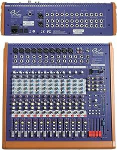 阿尔法音频170350 Mix sixteen DSP 控制室