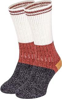女士复古小屋羊毛船袜