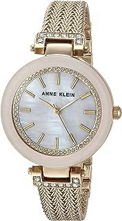 ANNE KLEIN 浅粉色 goldtone *手表