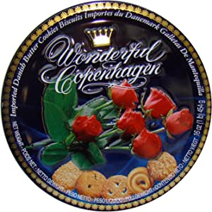捷克布森精选红玫瑰黄油曲奇饼干454g(丹麦进口)