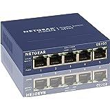 Netgear GS108E-300PES 8x 10/100/1000 Prosafe PLUS Switch Fanless Blau 5 Port