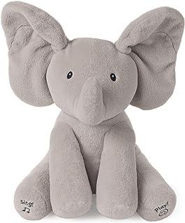 Baby GUND 动画般蓬松的毛绒填充大象娃娃,灰色,12英寸(约30.48厘米)