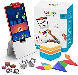 Osmo 天才套装 适用于Fire平板电脑- 5个亲自实践的学习游戏- 6-10岁 - 问题解决& 创造力 - STEM - (包含Osmo Fire平板电脑底座)