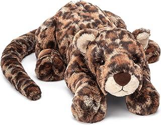 Jellycat Livi 豹纹填充动物,中号,48.26 厘米