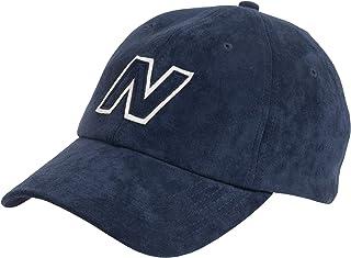 New Balance 男式和女式 Block N 6 片式弧形帽檐帽