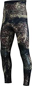 SEAC 男式 Kama 7mm 潜水裤,棕色迷彩,XXL 码