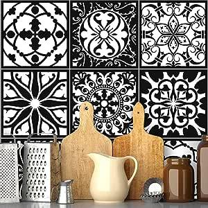 Ambiance 墙面瓷砖粘合剂粘合剂 - AZULEJOS - 20 x 20 厘米,9 件
