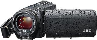 JVC GZ-R495 HD 四校对 40x 变焦便携式摄像机JVC803 CAMCORDER Camcorder 黑色
