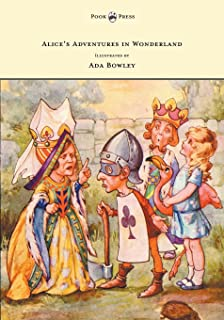 Alice's Adventures in Wonderland - Illustrated by Ada Bowley (English Edition)