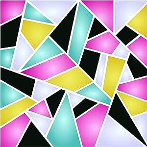 几何模板 - 可重复使用图案墙体装饰模板 - 用于绘画 - 用于纸质项目墙壁地板织物家具玻璃木等。 S 43216-108868