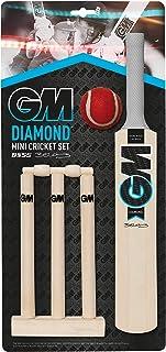 GM 板球钻石迷你板球套装 - 黑色/蓝色/白色,均码
