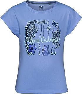Jack Wolfskin 品牌 T 恤女孩