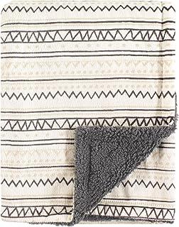 Hudson婴儿双层毛毯 Aztec 均码
