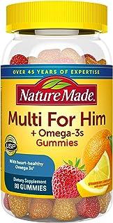 Nature Made 莱萃美 女士综合维生素 + 奥米加3 成人软糖 超值装 80 1