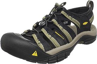 KEEN Men's Newport H2 Sandal,Black/Stone Gray,7 M US