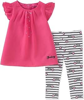 Juicy Couture 橘滋 女婴 2件束腰外衣套装