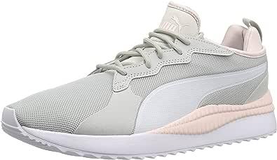 PUMA 男士 Pacer Next 运动鞋 灰色紫罗兰 puma 白色珍珠 6.5