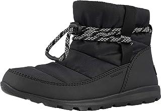 Sorel 女式靴子,Whitney 短雪地靴 黑色 3 UK