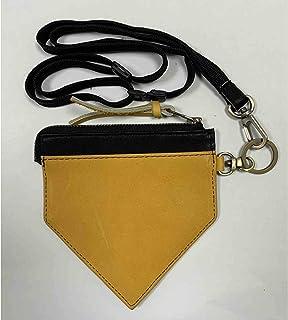 MIZUNO(美津浓) 皮革 商品【钻石工艺】 硬币包 1GJYG731 54:橙色