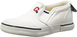 Carrot 懒人鞋 防溅水 4大功能 宽松 14-21厘米(有0.5厘米选项) 鞋宽2E 儿童 CR ST14 白色 16.5 cm 2E