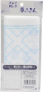 达尔玛 刺子布 梦幻小方绸 白色 叠叠叠(刺) 843K-32