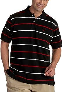 Nautica 诺帝卡 男士短袖纯色Deck Polo衫