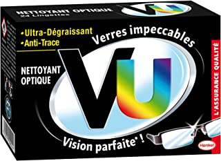 VU – 清洁布用于光学清洁,超油脂溶剂和防指纹,24袋
