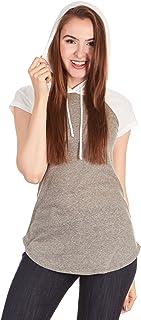 X America 女式棒球 T 恤 女士 w/兜帽 青少年 & 加大码 T 恤 女式