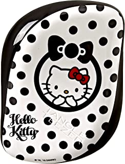 Tangle Teezer Compact Styler Hello Kitty 缠结发刷,黑/白