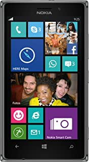 NOKIA Lumia 925 rm-893 GSM unlocked 4 G LTE Windows 8智能手机 – 黑色 / 深灰色